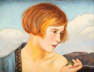 Portret dziewczyny, 1928