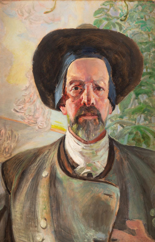 Autoportret, około 1922