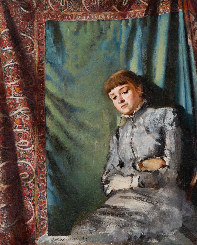 Portert siostry artysty Heleny Karczewskiej, 1882