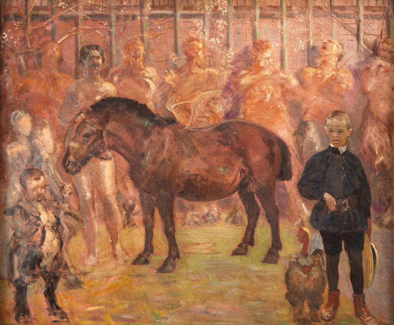 Pegaz - Portret Rafała Malczewskiego, około 1902