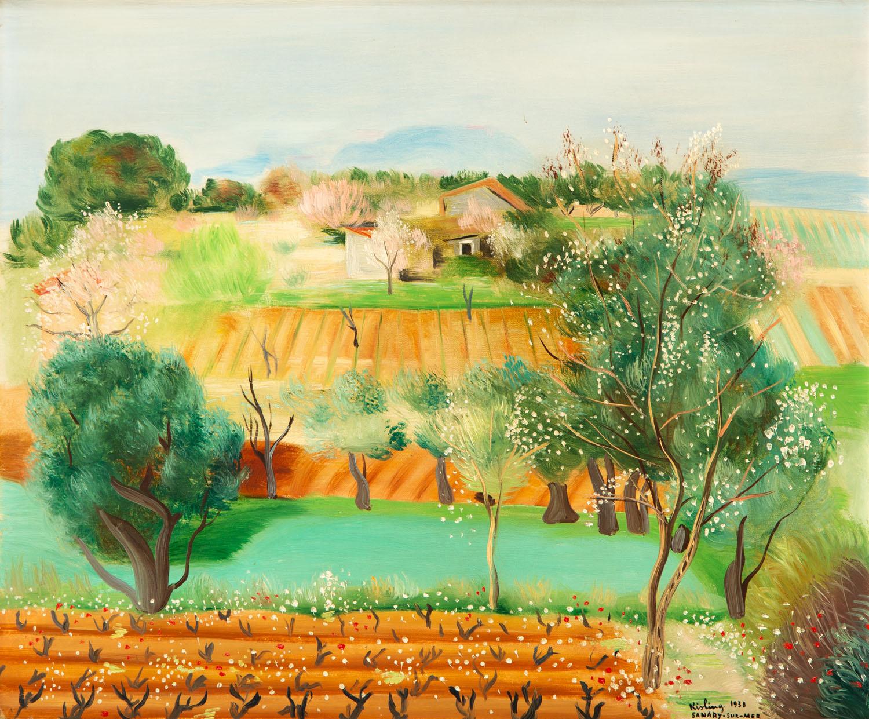 """Sanary (""""Pejzaż prowansalski""""), 1938"""