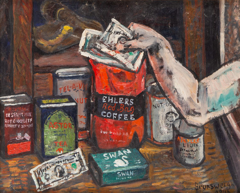 Martwa natura w sklepie, 1946