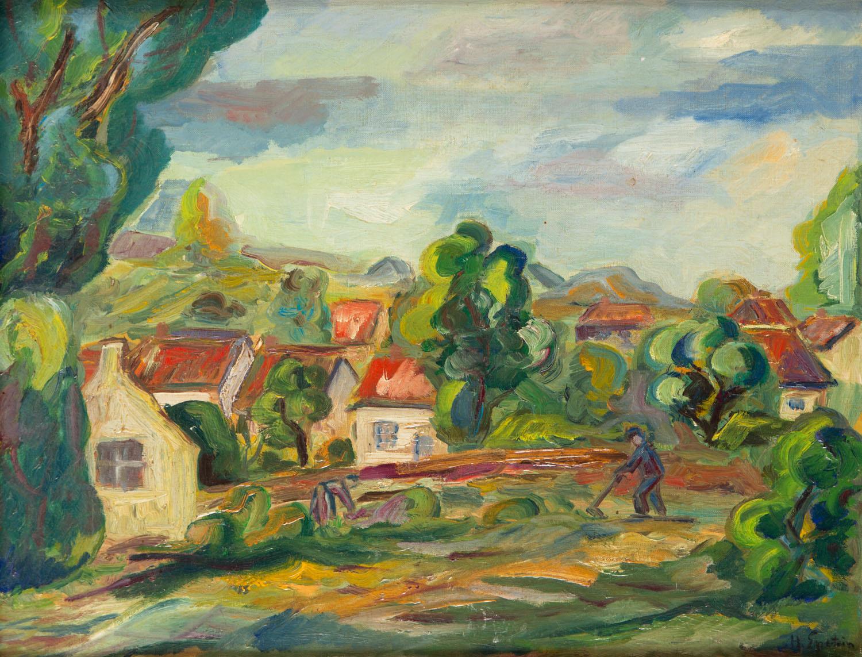 """""""Pole przy wiosce"""", około 1925"""
