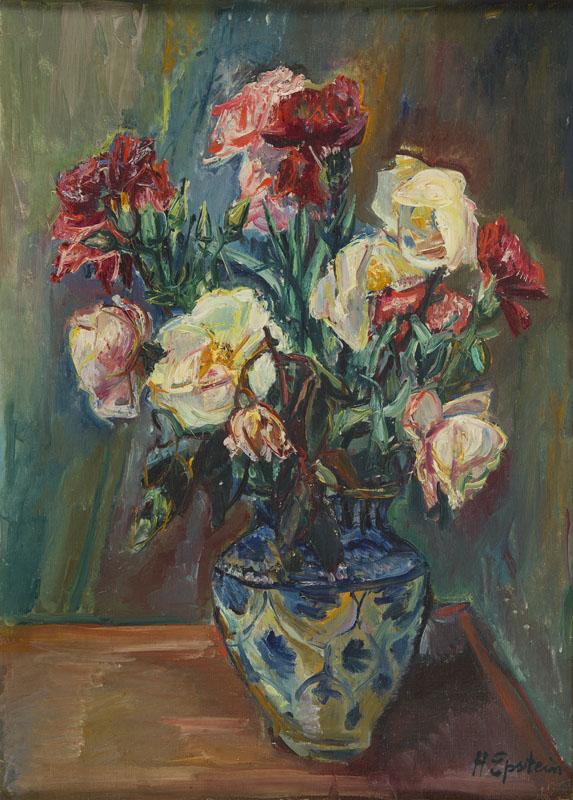 Martwa natura z bukietem kwiatów w wazonie, 1925-30
