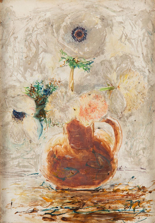 Anemony w wazonie, około1916
