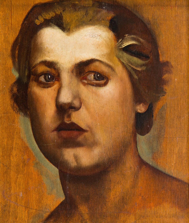 """""""Głowa kobiety"""", około 1929"""