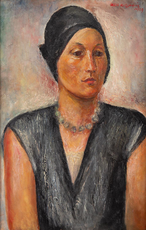 Portret żony artysty, 1929