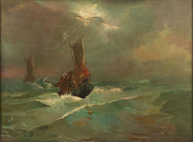 Na morzu, 1938