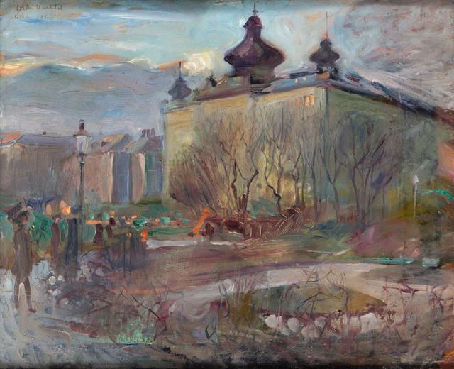 Widok z Wiednia, 1906