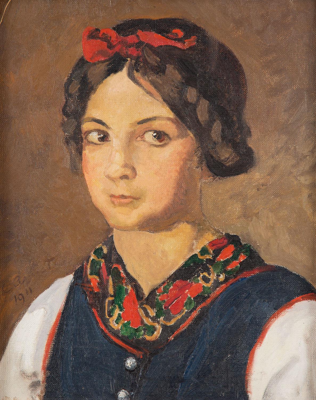 """""""s'Cenzerl Amiet"""", 1911"""
