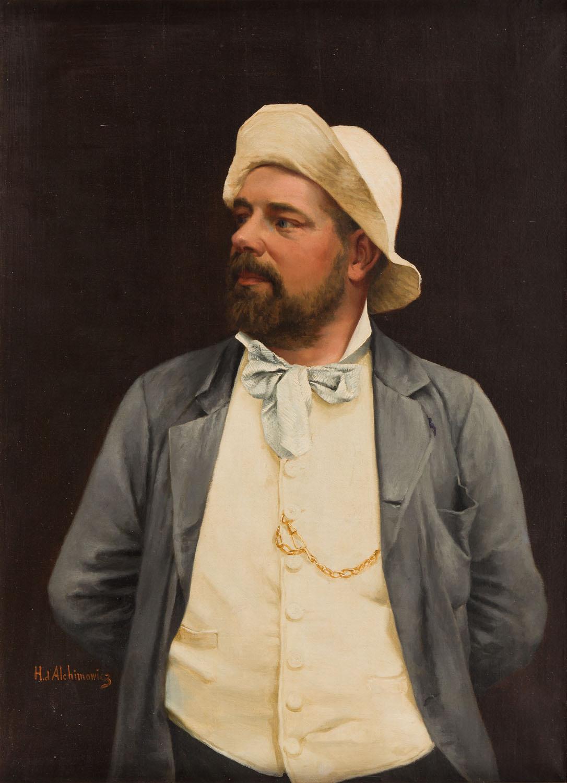 Portret malarza
