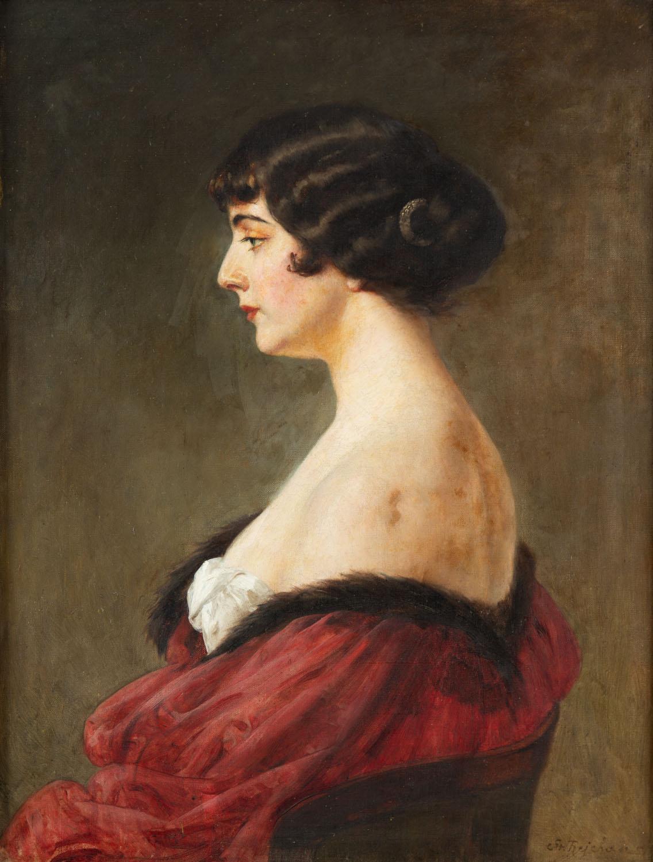 """""""Studium portretowe"""", przed/lub 1914"""