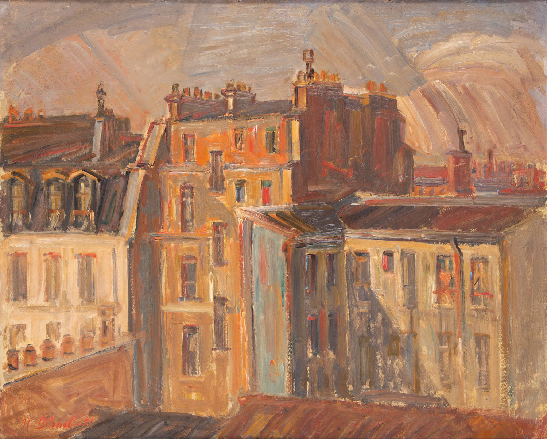 Dachy Paryża, 1957