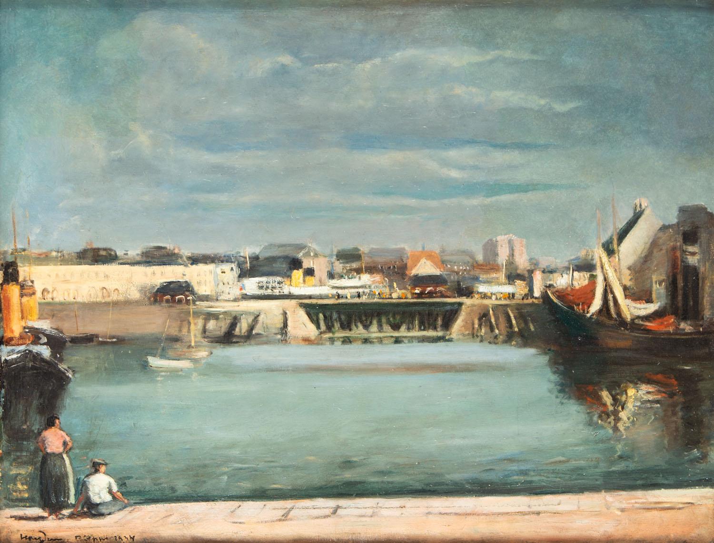 Port w Dieppe, 1934