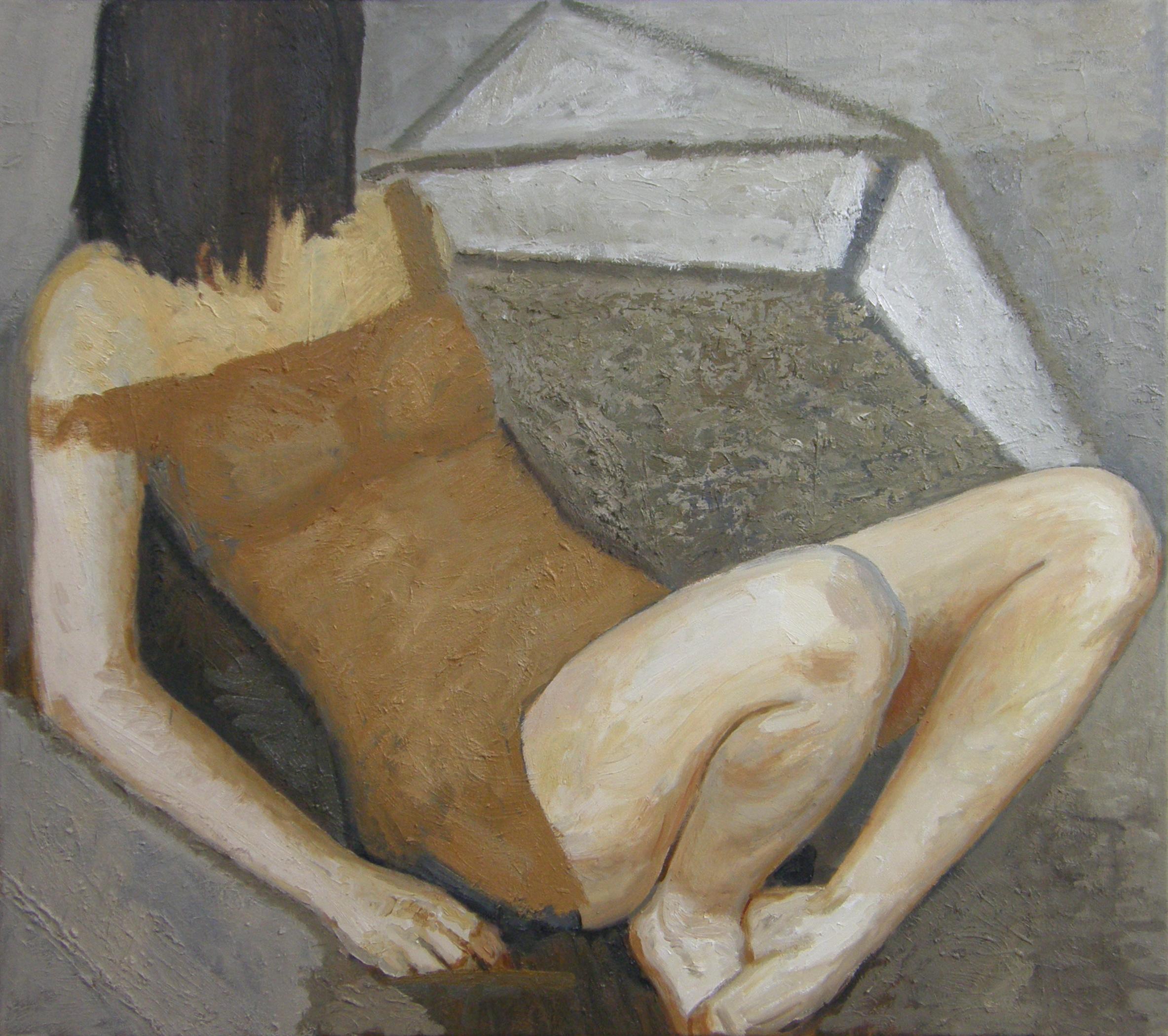 Dziewczyna, z cyklu Fabryka, 2016r.