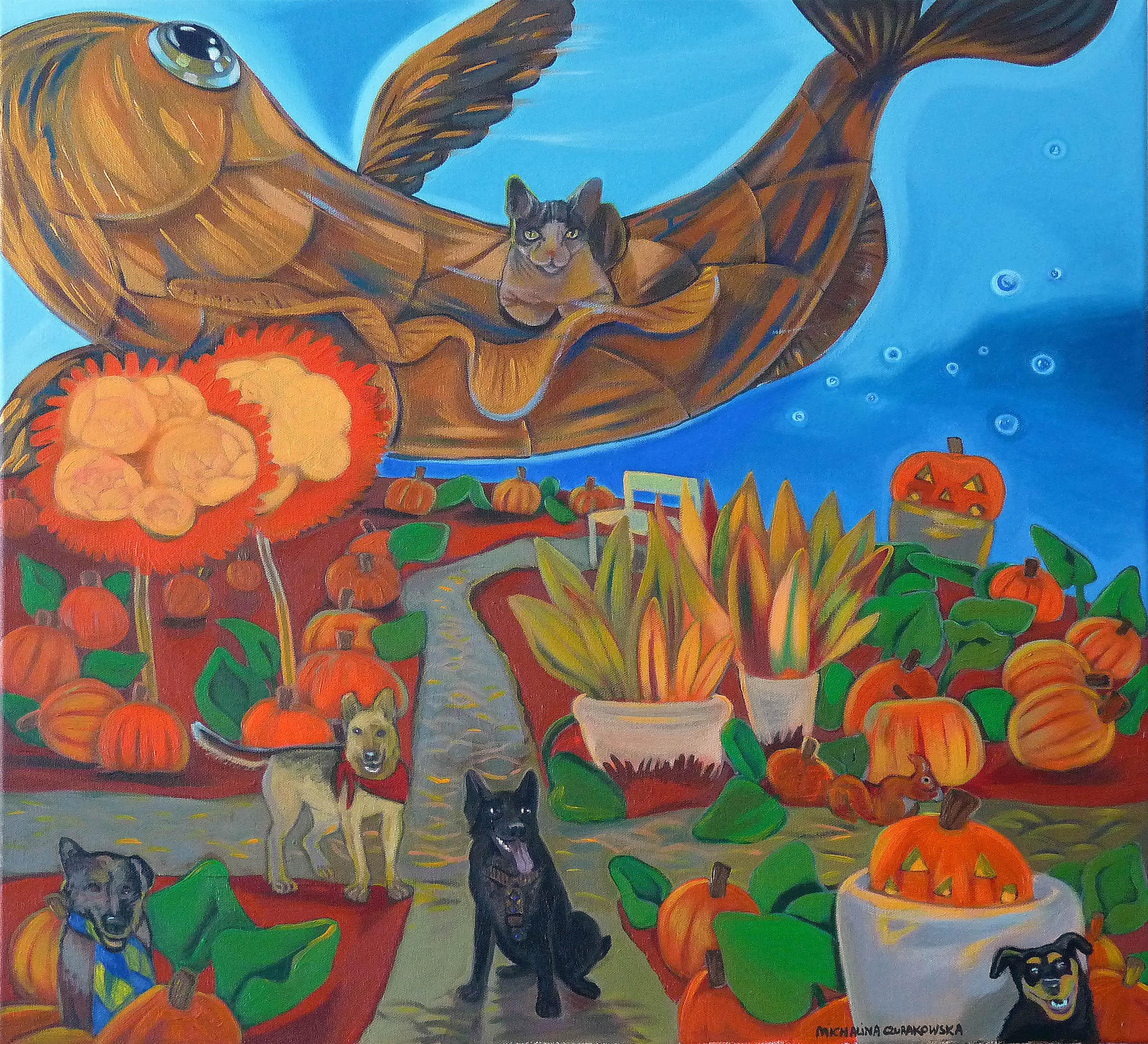 Pumpkin Garden, 2020