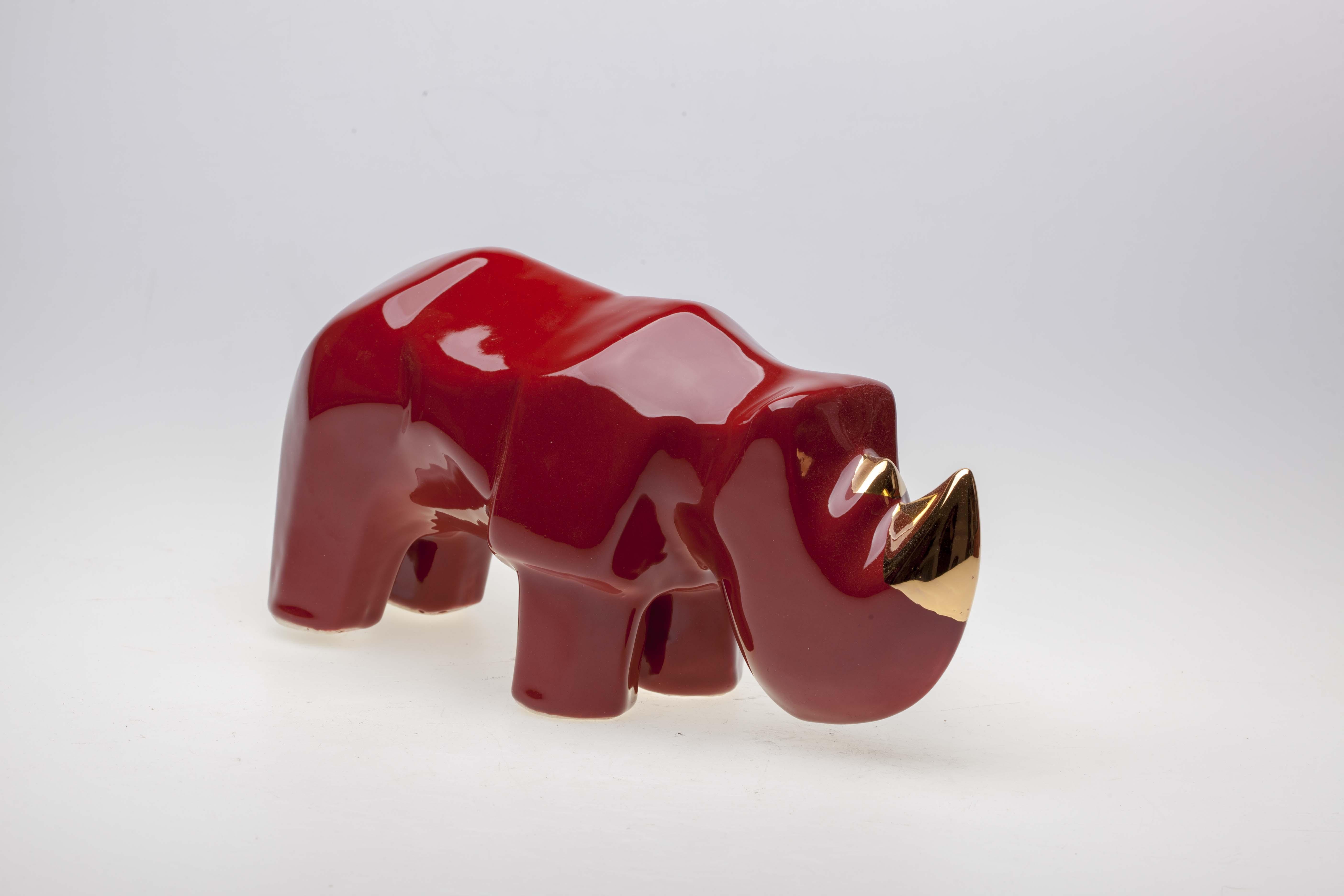 Nosorożec, z serii Safari, 2020
