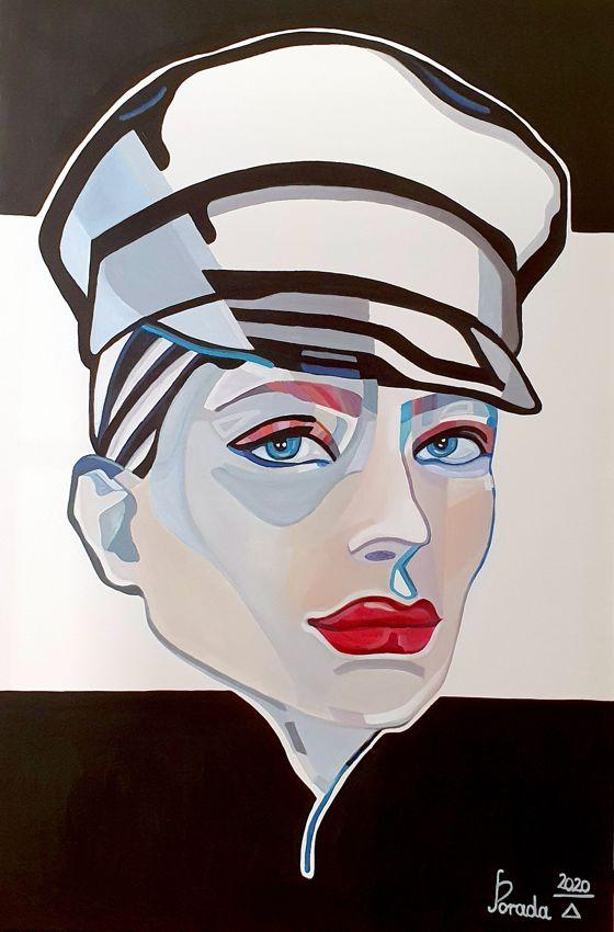 Kobieta w czapce, 2020