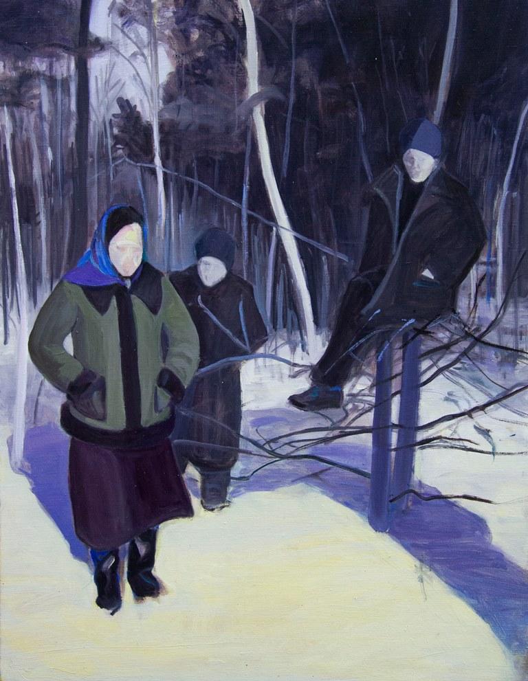 Zimowa sceneria, 2020