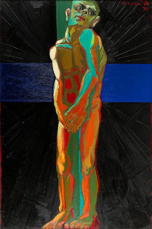 """""""Wyrok"""", z cyklu """"Ecce Homo"""", 1981-92"""
