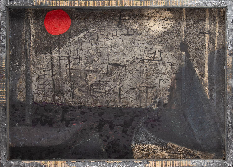 "Obraz z cyklu ""Francja (Marceilles)"", 1957-1960"