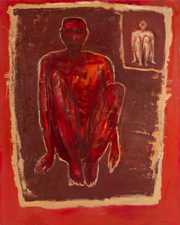"""""""Postać siedząca"""", 2001"""