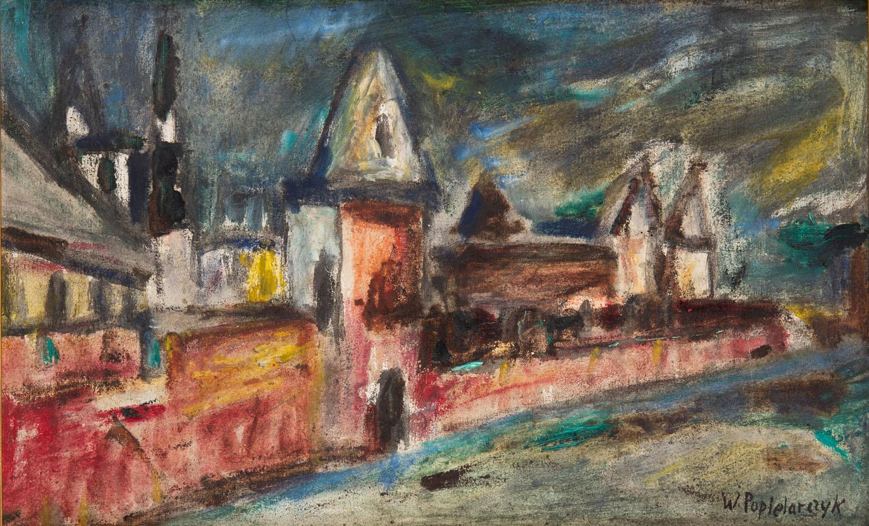 Widok miejski, około1950-1980