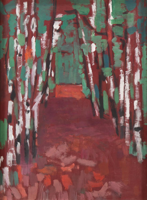 """""""Czerwony las"""", lata 60. XX wiek"""