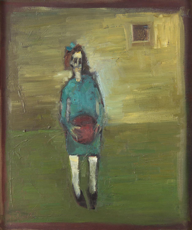 Dziewczynka z piłką, 1996