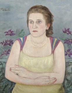 Portret Haliny Zadęckiej