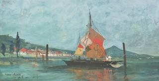 Żaglówka na Dunaju, 1908