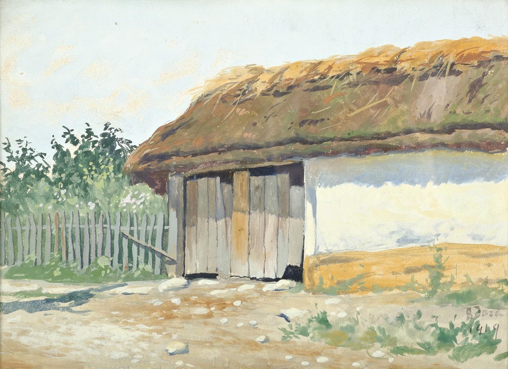Wiejska chata, 1919