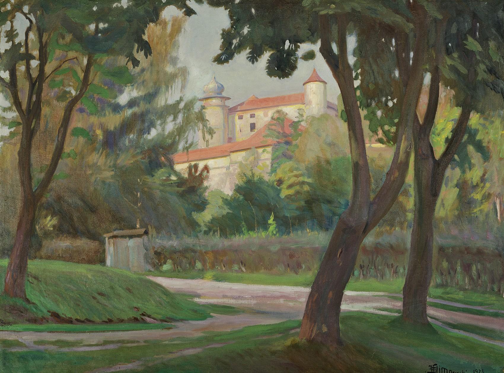 Zamek w Wiśniczu, 1928