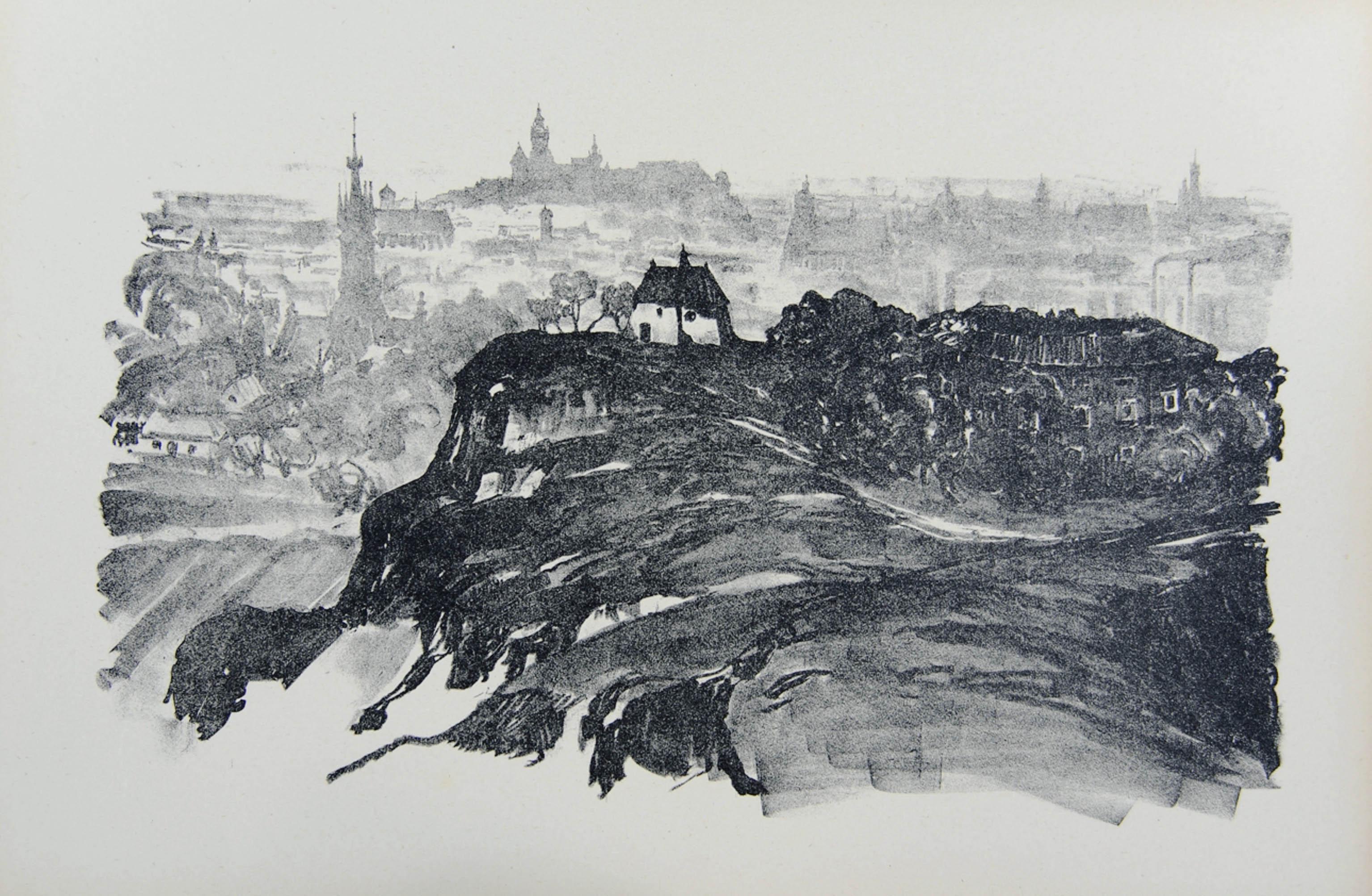 Widok ogólny Krakowa od południa