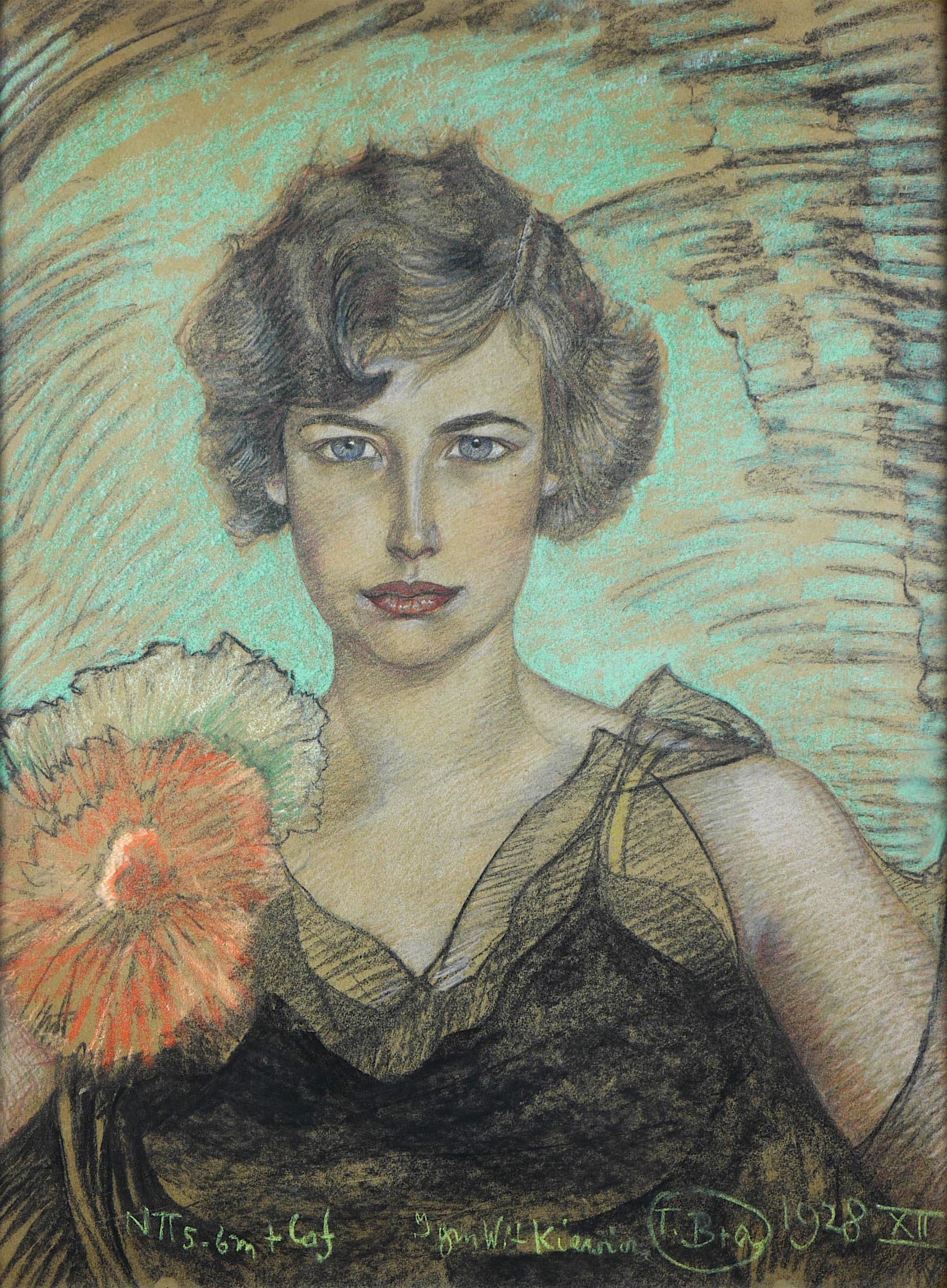 Portret kobiety, 1928 r.