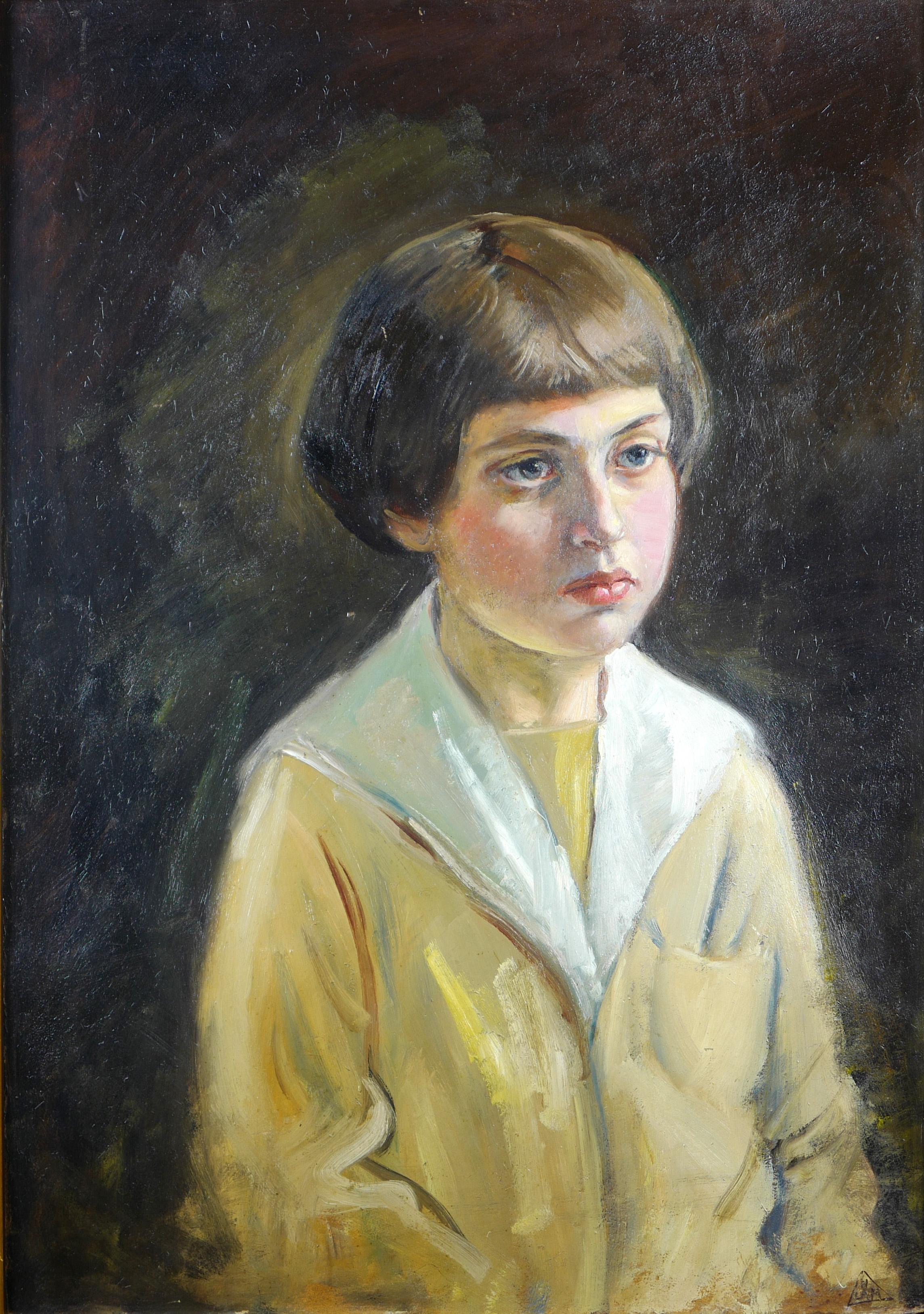 Portret chłopca, ok 1930 r.