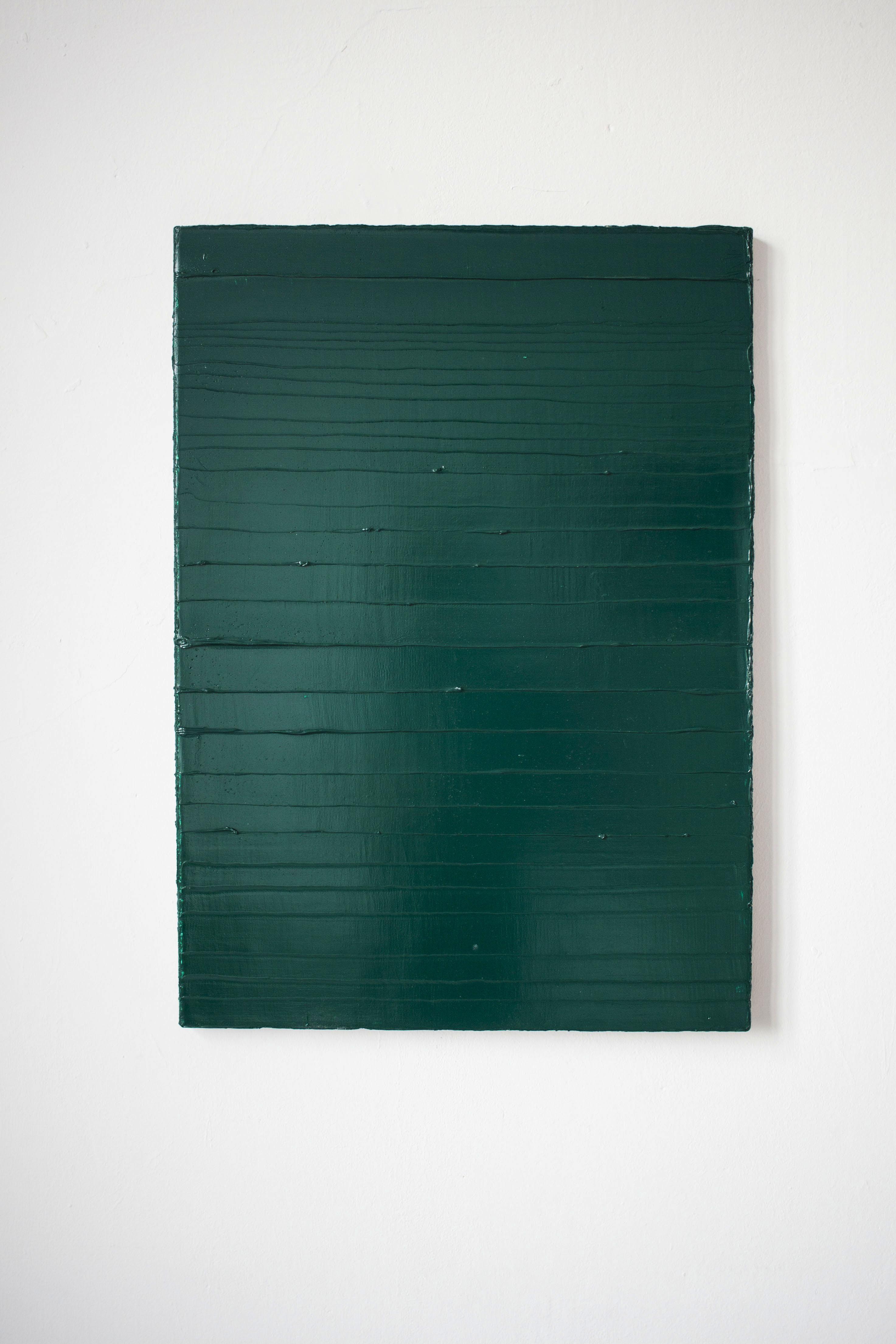 Green I, 70 x 50 cm, olej na płótnie, 2017, 2017