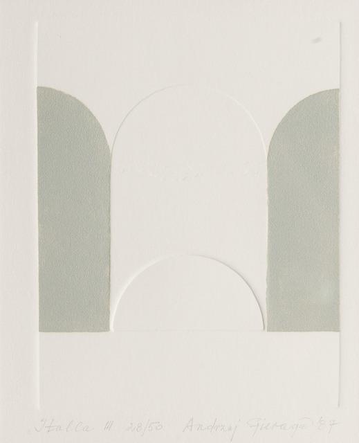 """""""Italla III"""", 1987"""
