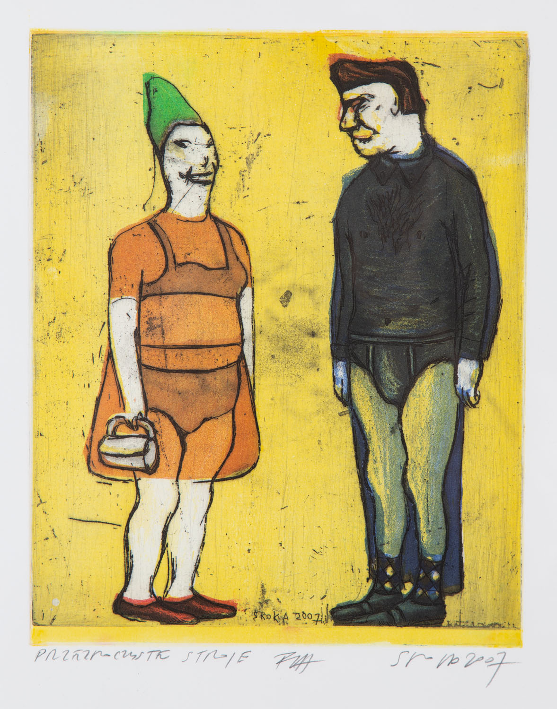 """""""Przezroczyste stroje"""", 2007"""