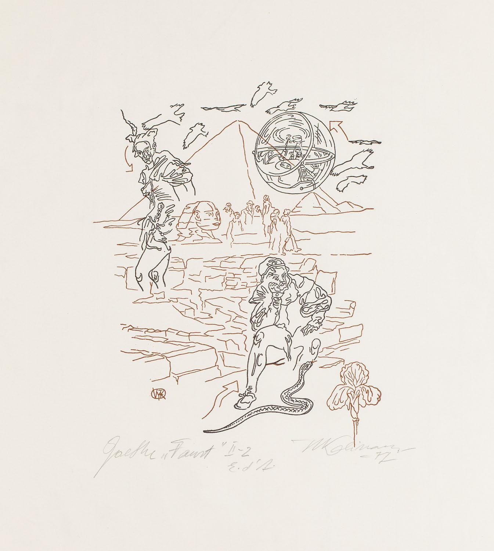 """Goethe """"Faust"""" II, 1977"""