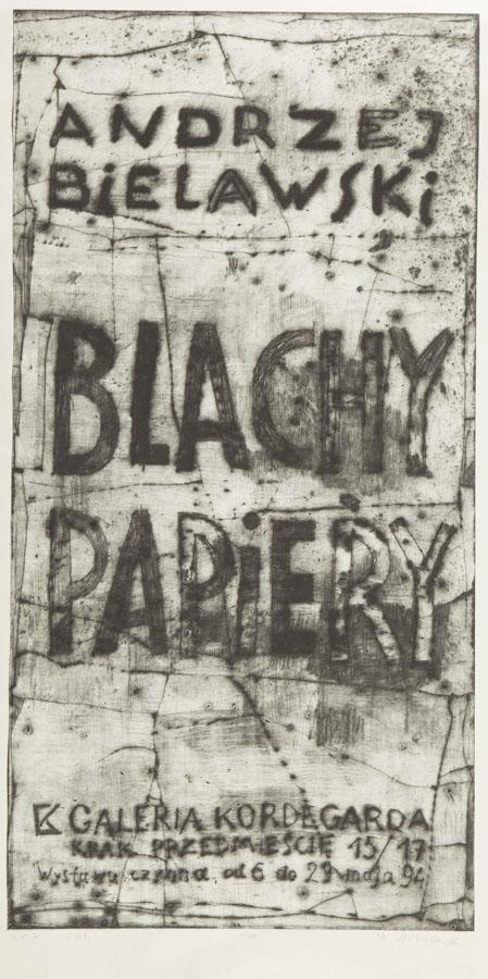 """""""Blachy papiery"""", 1994"""