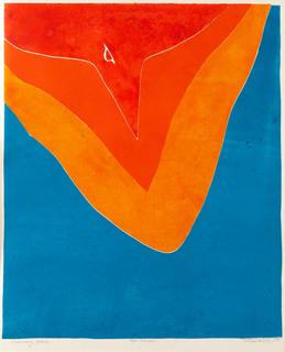 """""""Czerwony ptak"""", 1974"""