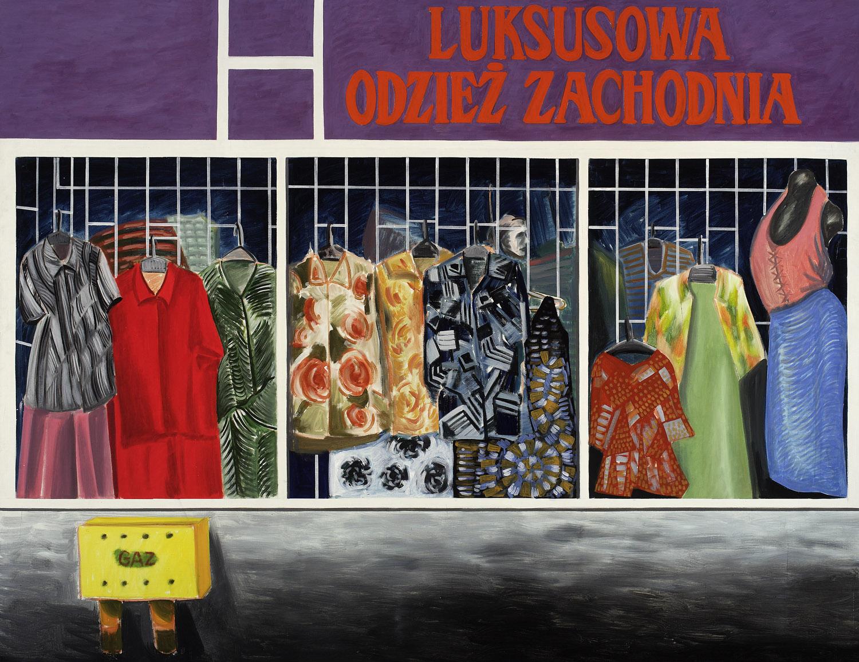 Luksusowa odzież zachodnia
