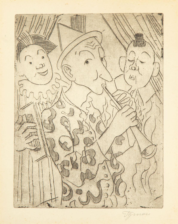 Zaproszenie do cyrku, 1955