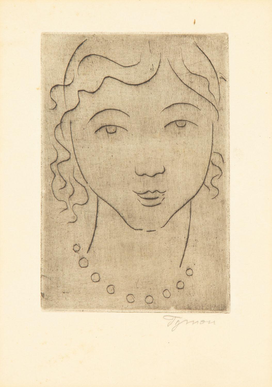 Głowa dziewczęcia, 1955