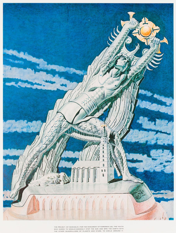 Pomnik Kopernika, 1973