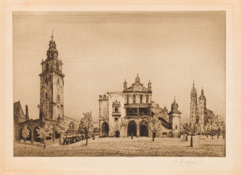 Rynek Główny w Krakowie, 1911