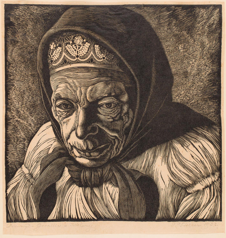 """""""Góralka z Istebnej"""", 1933"""