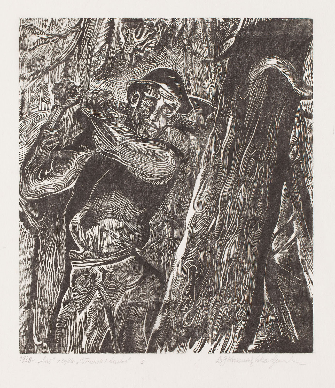 """""""Las"""" z cyklu """"Człowiek i drzewo"""""""