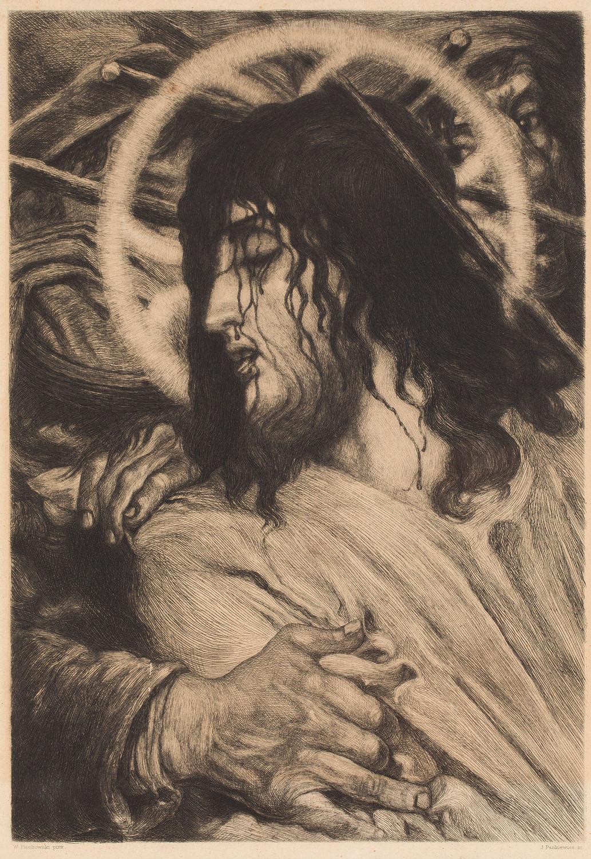 Chrystus umęczony, 1905